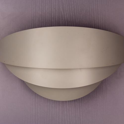 1976 White Cap Wall Light